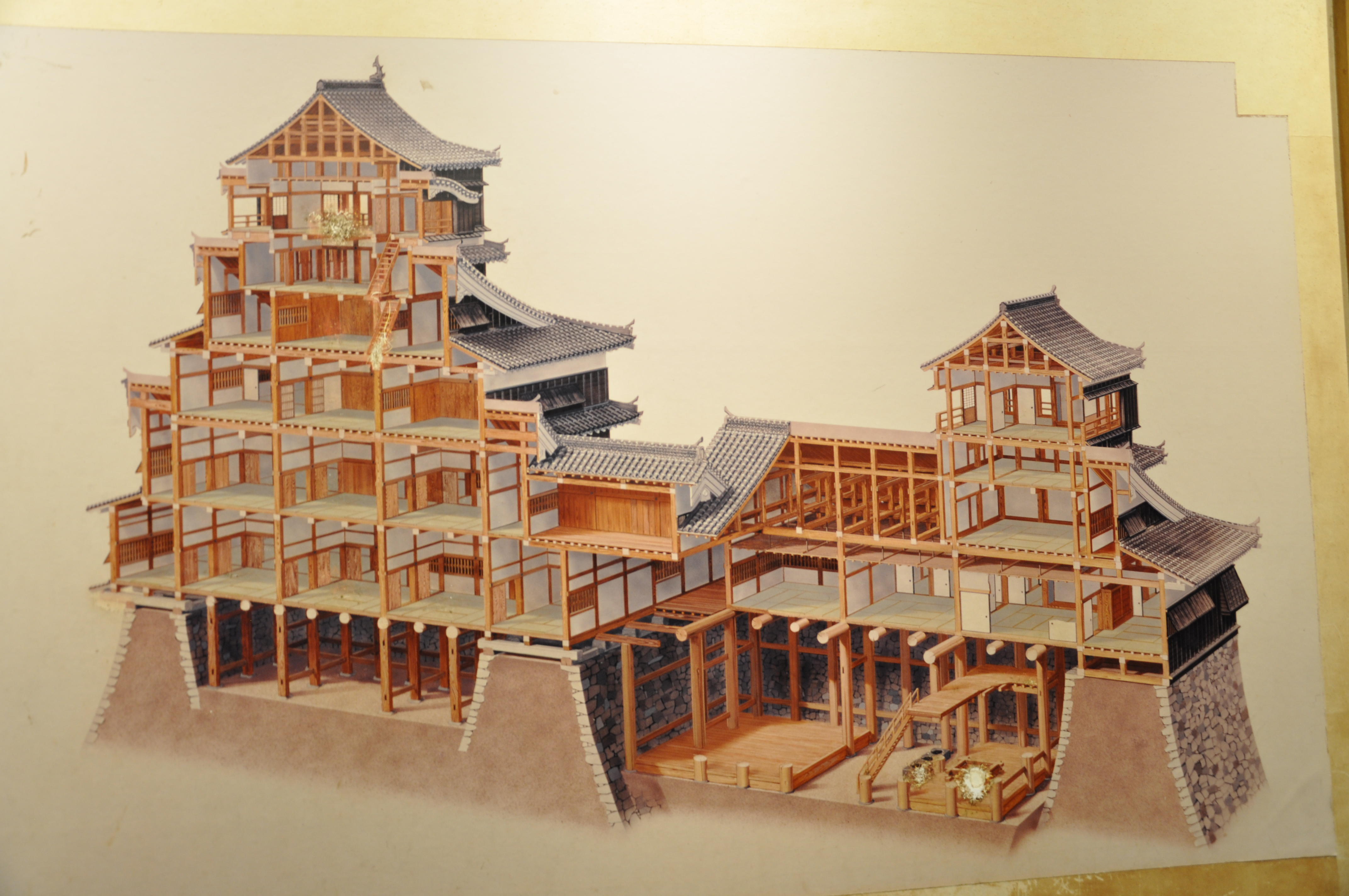 21 Kumamoto Castle Building Diagram Lasting Transitions