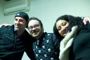 Brian, Sariska, and I