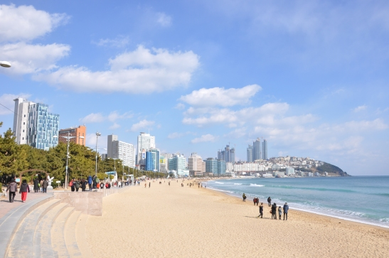 Haeundae Beach - Busan, South Korea