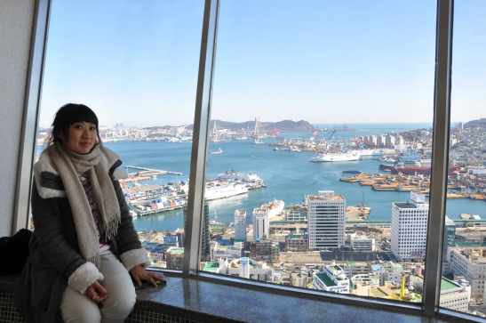 Michelle in Busan Tower