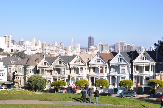View from Alamo Square Park, San Francisco