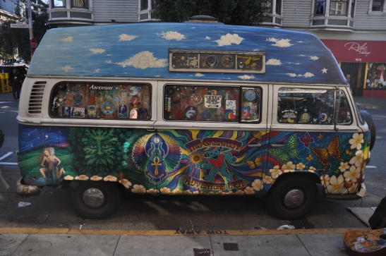 Hippie Mobile - Haight Street, San Francisco