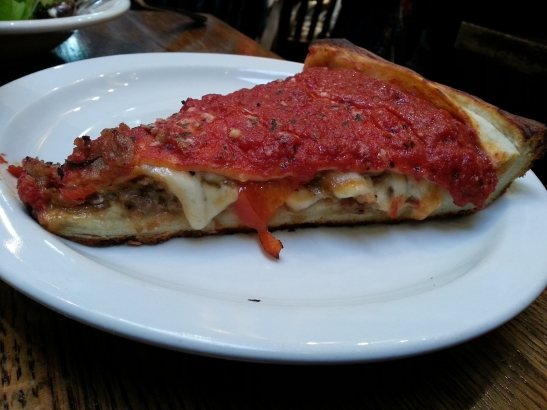 Patxi's Chicago Pizza - Meat SliceSo good!