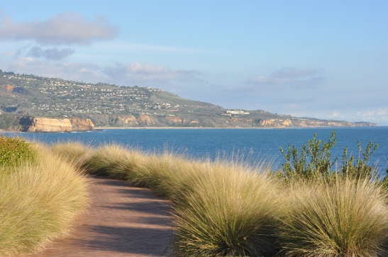 Shoreline and hilltop - Rancho Palos Verdes, California