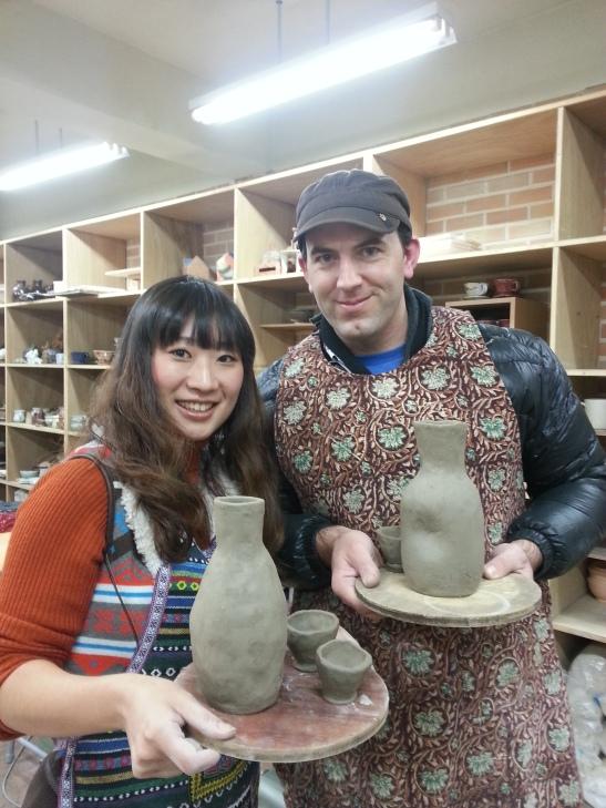 Ceramics making!