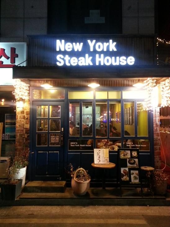 New York Steak House - Seorae  Village (French Village), Seoul