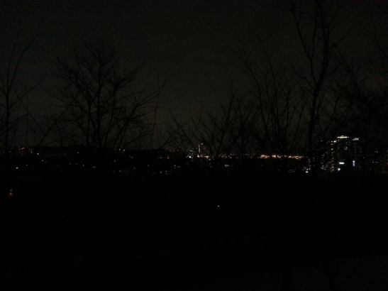 Night view from Parc Montmartre - Seorae Village, Seoul