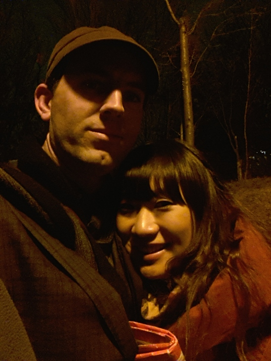 Michelle and I at Parc Montmartre