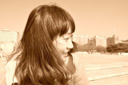 Michelle en el parque