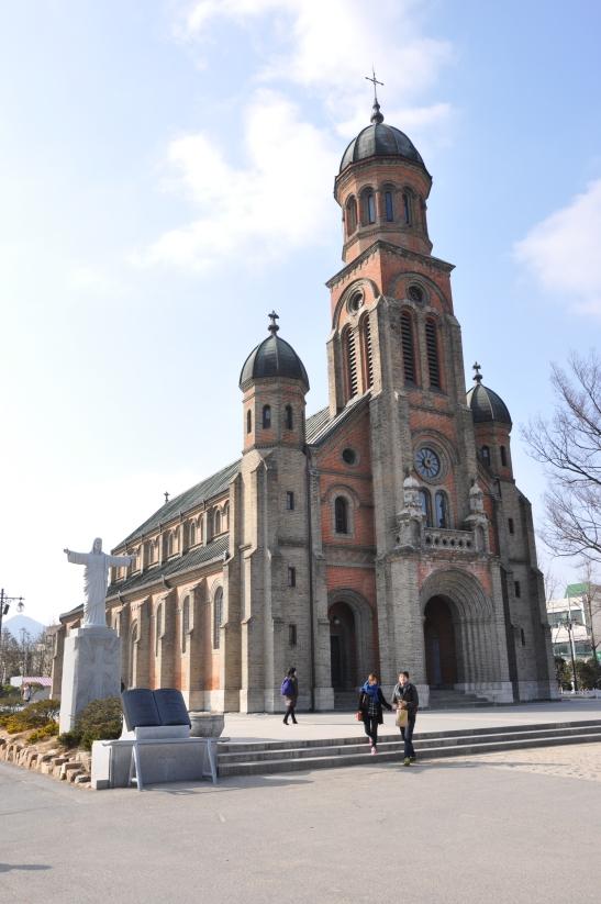 Inside Jeondong Catholic Church - Jeonju, South Korea