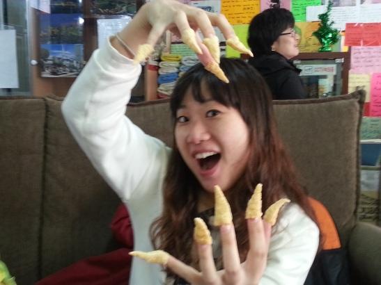 Fun with Korean snacks