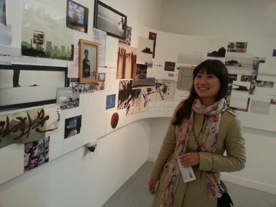 Michelle at Savina Museum of Art, Seoul