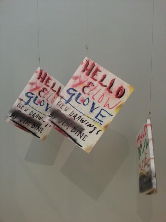 Hanging Steidl books