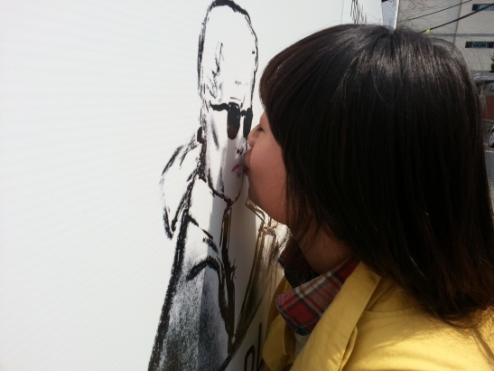 Kissing Steidl... Should I be jealous?