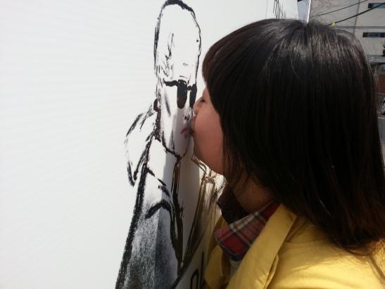Kissing Steidl... Should I be jealous?