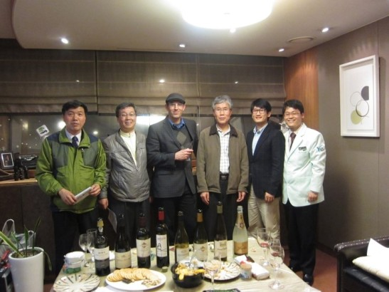 The men and the wines