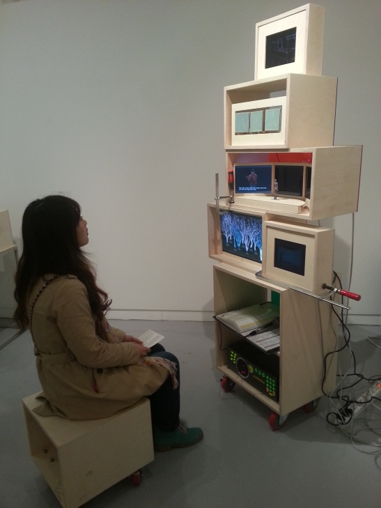 Weird Machine captivates Michelle at Savina Museum of Contemporary Art, Seoul