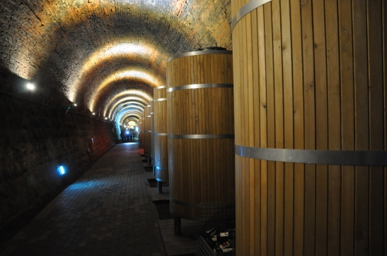 Persimmon Wine Barrels - Cheongdo, South Korea