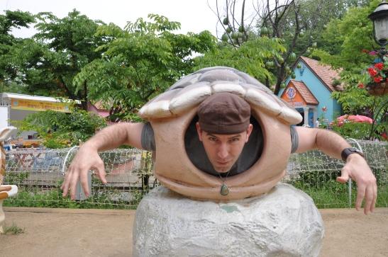 I'm a turtle