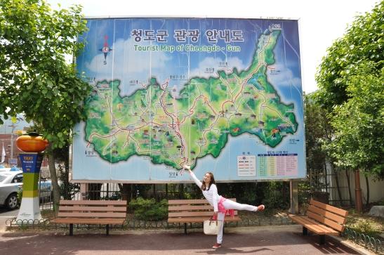 Modeling for Cheongdo map