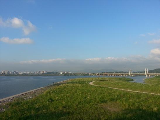 Bike Path along the Han River