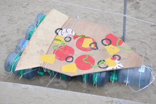 Pizza Raft