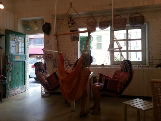 Café Farmer Interior