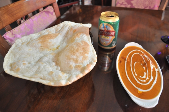 Naan and Curry - Bagdad Cafe