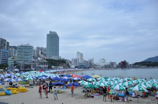 Songdo Beach - Busan Packed!