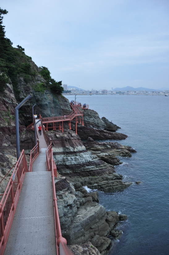 Songdo Beach Cliff Hike