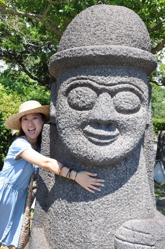 Hugging Jeju Statue