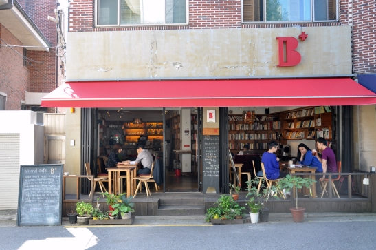 (14) B+ Editorial Cafe - Hapjeong, Seoul