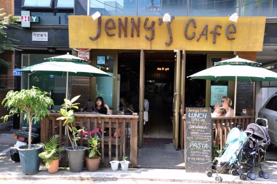 (17) Jenny's Cafe - Hapjeong, Seoul