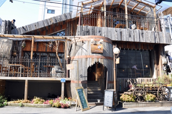 (4) Wood Building Cafe, Hapjeong, Seoul