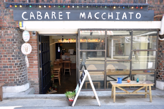 (9) Cabaret Macchiato - Hapjeong, Seoul