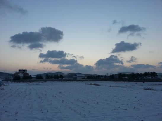 Winter Horizon - Wolgot, South Korea