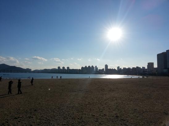 Sun in Busan