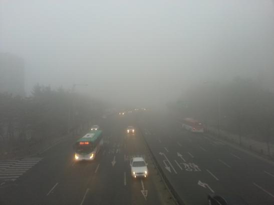 Toxic Fog in Gimpo