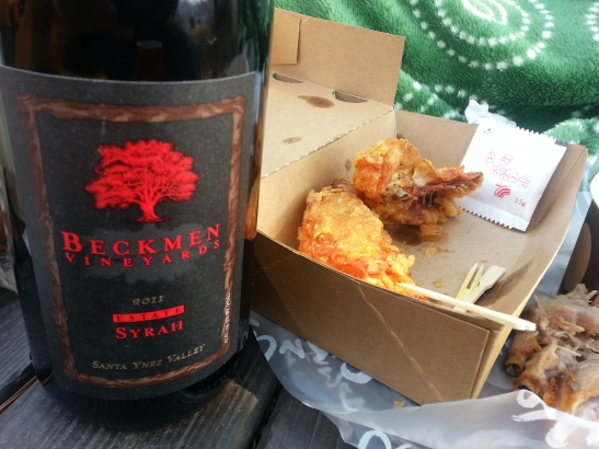(6) Wine and Fried Chicken