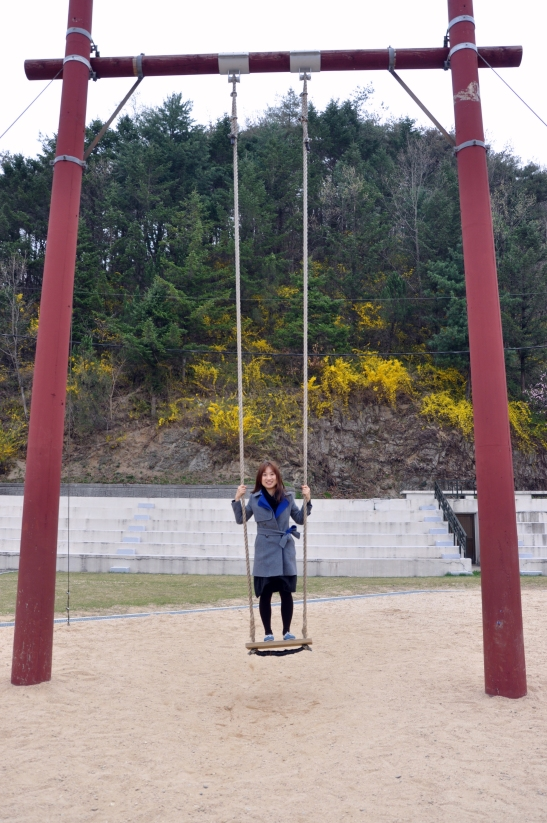 (19) Standing swing