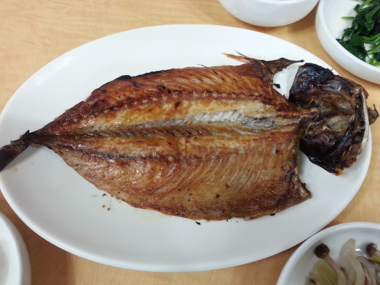 (7) Andong Salted Mackerel