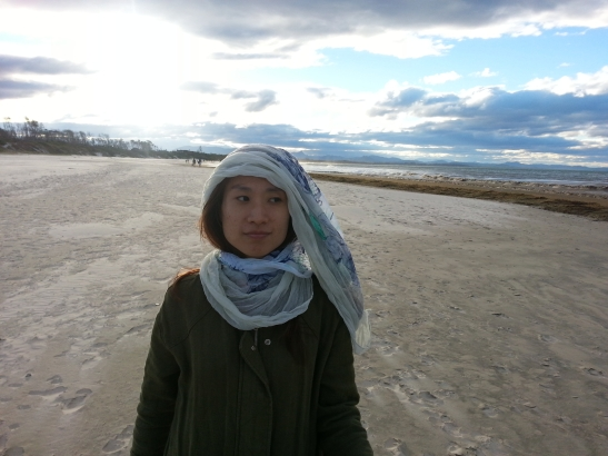 (10) Michelle on sand