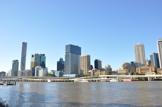 (13) Brisbane city