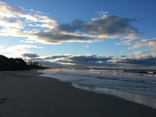 (14) Beach at Dusk
