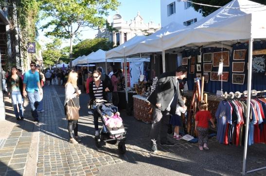 Brisbane street market
