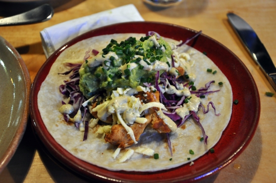 (23) Chicken and Avocado Taco, Gold Coast