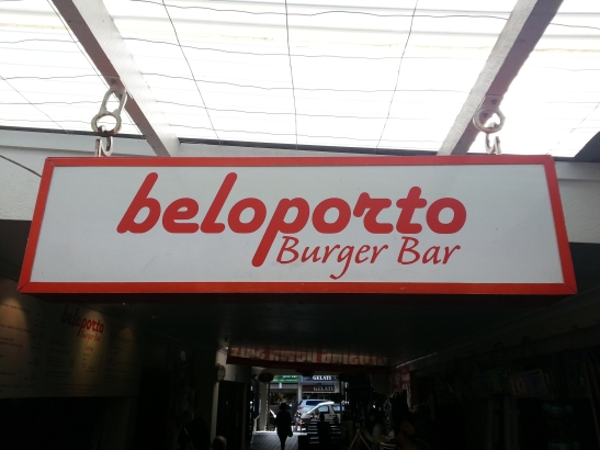 (5) Beloporto Burger Bar sign