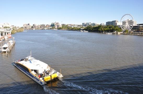 (9) Brisbane River