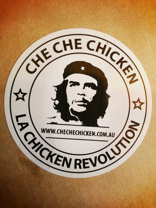 (2) Che Che Chicken Logo, Australia